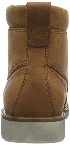 ECCO HOLBROK Herren Combat Boots Braun (AMBER 2112)