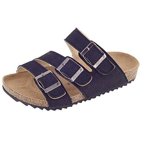 Kinder Clogs Hausschuh Jungen Zehentrenner Mädchen Schuhe Pantolette aus Kork