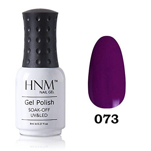 HNM Vernis à Ongles Semi Permanent Manucure Nail Art Pafait pour Vos Ongles UV LED Soak off 8ml-29