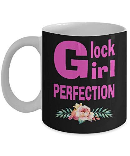 Glock Coffee Mug - Glock Girl Perfection Coffee Mug, Funny, Cup, Tea, Gift For Christmas, Father's...