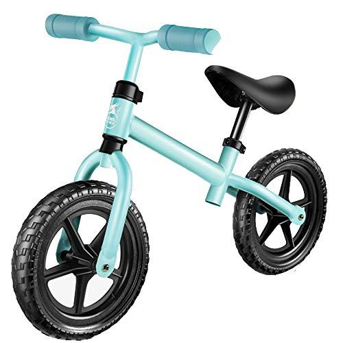 YUMEIGE Laufräder Kinder Laufrad 3 Farben Classic Lightweight No-Pedal Kleinkinder Walking Fahrrad Jungen Mädchen Geschenk Glider Bike Einstellbare Lenkerhöhe (Color : Blue)