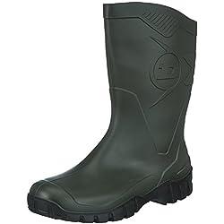 Dunlop - Zapatillas de sintético para Hombre Negro Negro, Color Verde, Talla 41.5