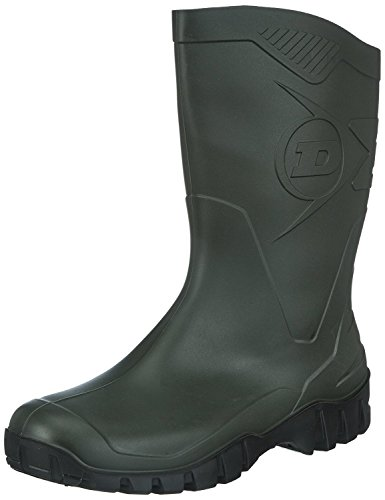 Dunlop Zapatillas de Sintético Para Hombre Negro Negro, Color Verde, Talla 41.5