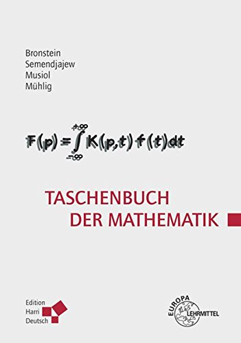 Buchcover: Taschenbuch der Mathematik (Bronstein)