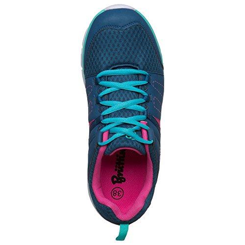 Bruetting , Chaussures pour homme spécial sports en salle Marine/Pink/Tuerkis