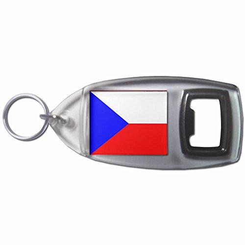 Czech Republic Flag - Bottiglia di plastica