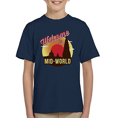 Welcome To Mid World Dark Tower Kid's T-Shirt -