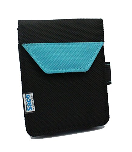 Saco Plug and play External Hard Disk Pouch Cover Bag for Sony HD-SL1 Ultra-Slim Lightweight 1TB External Hard Drive - Aqua Blue  available at amazon for Rs.180