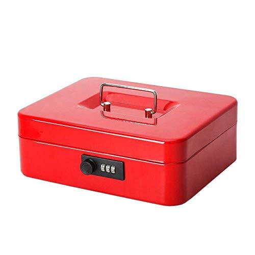 Cajas fuertes Caja fuerte pequeña de escritorio, caja de almacenamiento de metal...