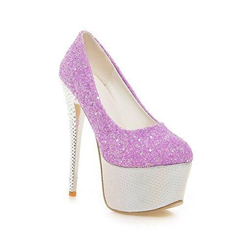 Adee, Purple Woman Chaussures À Talons Hauts