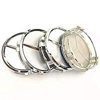 Four-Pieces Mercedes Rims Cover - Silver