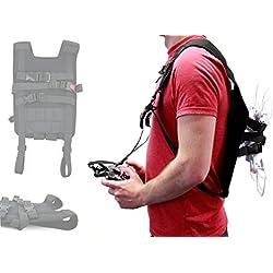 Duragadget Harnais Sangle Minimaliste pour PNJ SmartFly, DR-Smart, PNJ FLY-60, DR-Bee et DR Wing-W Mini Drone et Vos Accessoires
