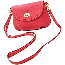 Signore mini bag piccola borsa del messaggero della spalla crossbody, 6 colori