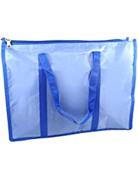 Nisun Waterproof Multi Pocket Shopping/Grocery/ Fruit/Vegetable Bags With Zipper Closure (17 X 5.5 X 13.5 Inch...