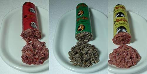 Happy Pets Rindfleisch, Pansenfleisch und Hühnerfleisch Basis - Fertigmenü - 15kg