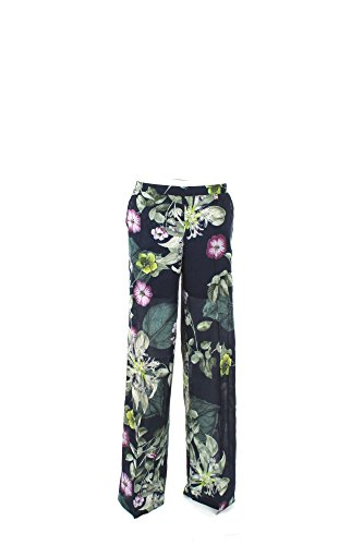 Pantalone Donna Twin-set L Blu/verde Js72pd 1/7 Primavera Estate 2017