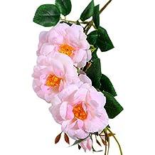 babysbreath17 7 Falso Fiesta de la Boda Floral Flor de la Cabeza de Flor Artificial de