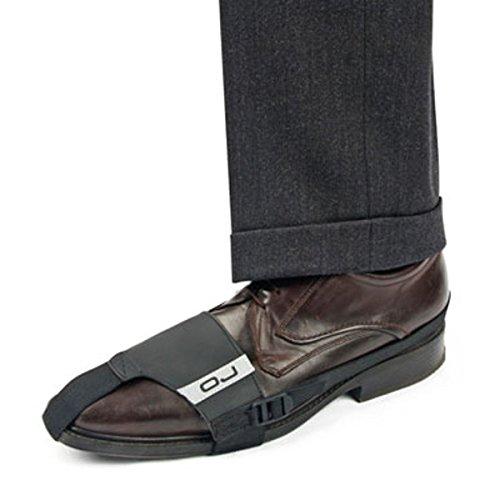 Preisvergleich Produktbild Veka Scheinbein Schuhe Leder Moto Luxus parashoe M003schwarz OJ für Suzuki GSR 600