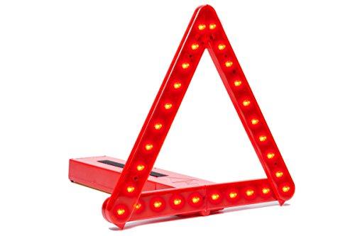 BriteAngle Warndreieck, LED-Beleuchtung, Sicherheitszubehör–Europäisches Notfall-Pannenset–Warndreieck für Auto/Wohnmobil/LKW