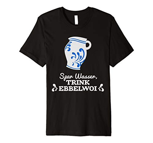 Lustig Apfelwein Bembel hessisch Geschenk T-shirt