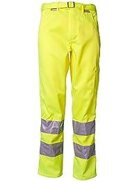 Planam Bundhose Warnschutz, Größe 54, 1 Stück, gelb, 2012054
