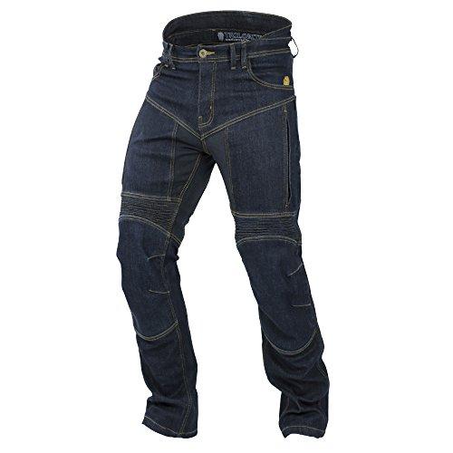 Trilobite Motorrad Wasserdicht Jeans, dunkelblau, Größe 42, lang