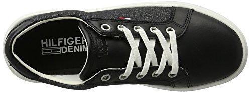 Tommy Hilfiger D1385olly 1c1, Scarpe da Ginnastica Basse Donna Nero (Black 990)