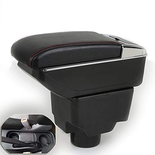 Szss-car Cuir de voiture Accoudoir Console Centrale Box