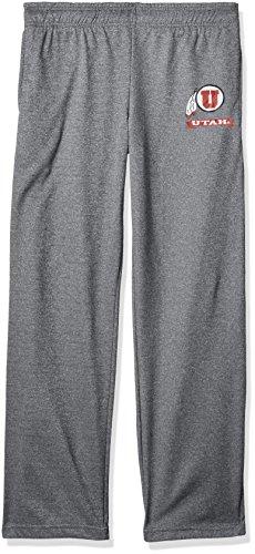 Old Varsity Brand NCAA Herren Herren Poly Hose, Herren, Poly Fleece Pant, Dunkles Erika, Large Varsity Fleece Hose