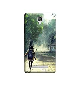 Ebby Premium Printed Back Case Cover With Full protection For Micromax Bolt Q331 (Designer Case)