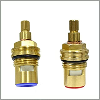 GI Universal Replacement Brass Ceramic Disc Tap Valve Insert Gland Cartridge Quarter Turn