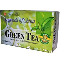 Uncle Lee's Tea Legends of China Green Tea, 100 Tea Bags (Pack of 3)