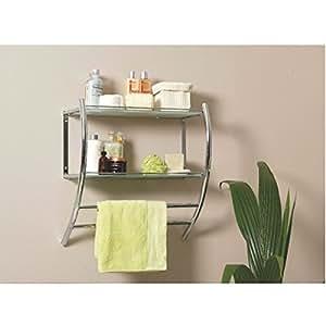 allibert 1820741 porte serviette mural spirit chrome. Black Bedroom Furniture Sets. Home Design Ideas