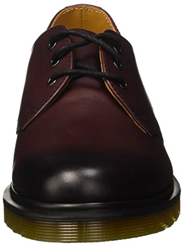 Dr. Martens 1461, Derby Mixte Adulte Rouge (Cherry Red Antique Temperley)