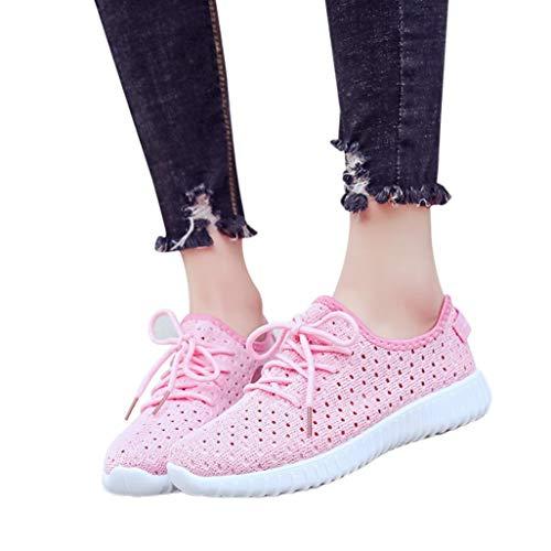 Mesh Sneaker Damen Laufschuhe Turnschuhe Joggingschuhe Mode Frauen Schuhe Lace Up Bequeme Sportschuhe Freizeitschuhe Yoga Gym Schuhe,ABsoar