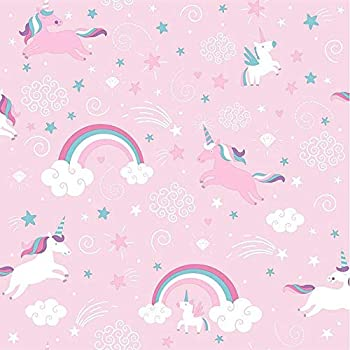 Arthouse Rainbow Unicorn White Wallpaper 53 X 7 Amazonco