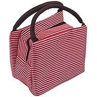 Bolsa de Almuerzo, Bolsas de Comida Picnic Fiambrera Isotermica Nevera portatiles para Empleado Estudiante (Rojo)