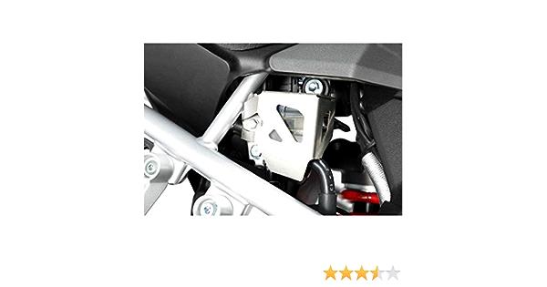 Sw Motech Bremsflüssigkeitsbehälter Schutz Silbern Für Suz Dl1000 V Strom 14 Honda Crf1000l Auto