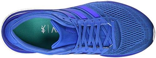 adidas Adizero Boston 6, Chaussures de Running Compétition Femme, Bleu Bleu (Ray Blue/Ray Blue/Bold Blue)