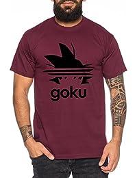 WhyKiki Adi Goku Camiseta de Hombre Dragon Master Son Ball Vegeta Turtle Roshi Db