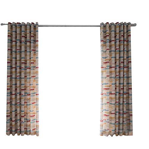 Strimusimakabstract Striped Patio Porta Finestra Tenda con...