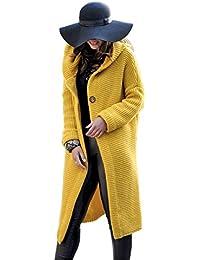 832292b6265e Suchergebnis auf Amazon.de für  Gelber Mantel - Damen  Bekleidung
