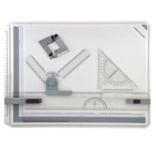 SODIAL (R) Qualität 'A3Zeichenbrett mit Parallele Bewegung und Verstellbarer Winkel Neu