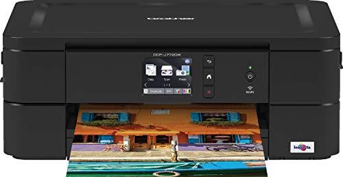 Brother DCP-J772DW Imprimante Multifonction 3 en 1 - Jet d'Encre- A4 - WIFI - Impression Recto-verso Automatique - Airprint