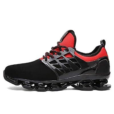 FUSHITON Mens Trainers Casual Walking Shoe Blade Sport Sneakers Breathable Mesh Cross Trainning Trail Running Shoes Men
