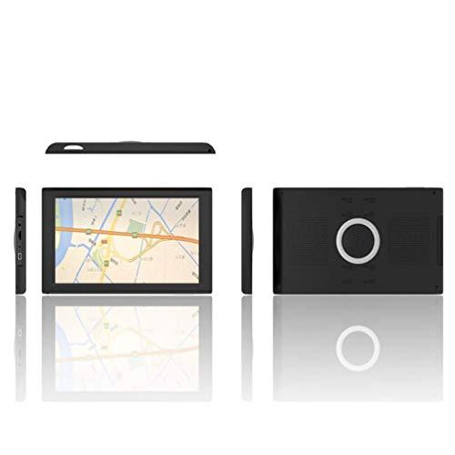 Navegación GPS, 256Mb 8G Negro Navegador Portátil GPS para Camiones con Alarma...
