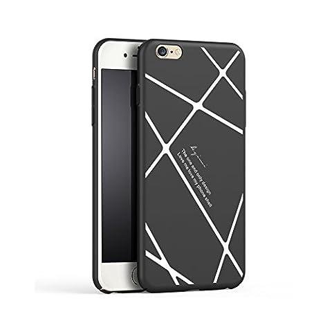 【 nouveau paragraphe Striped 】 HX415 iPhone 6s Coque/ iPhone