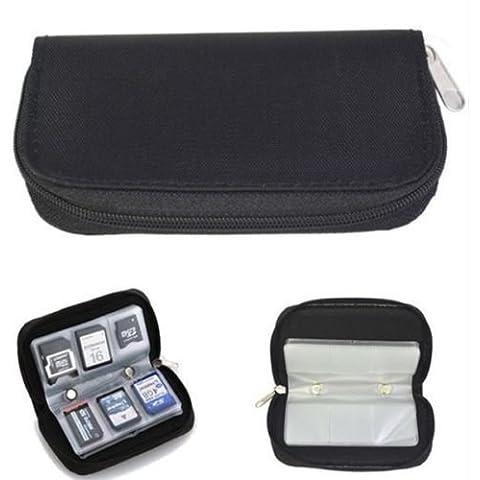 Micro SD / xD / TF / CF / MMC / MS / SIM Tarjeta de memoria de almacenamiento Llevar Titular caja de la