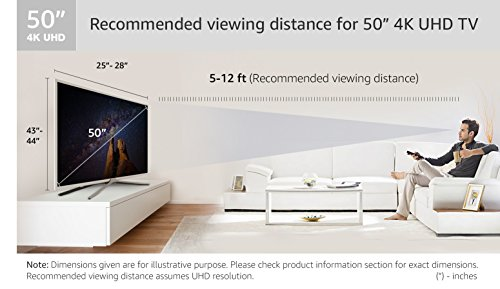 Samsung 125 cm (50 inches) Series 6 50MU6100 4K UHD LED Smart TV (Black)
