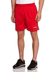 Mitre  - Pantalones cortos de fútbol para hombre, color rojo